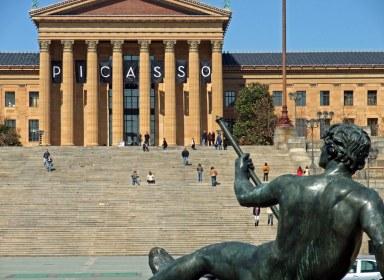 Philadelphia_Museum_of_Art_Picasso_Exhibit_2010_Signage