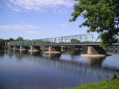 The New Hope-Lambertville Bridge